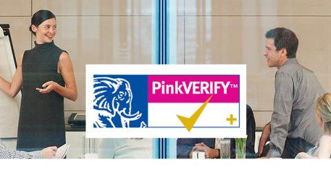 pink-verify