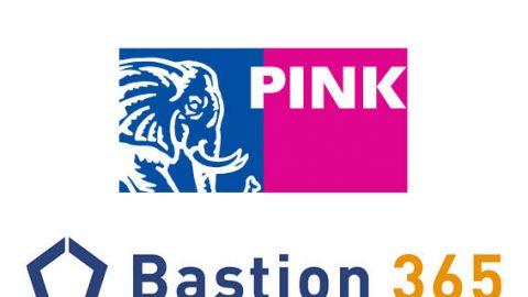 Pink en Bastion 365 Logo